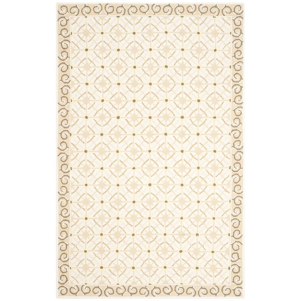 Safavieh Newport Taupe/Beige 7 ft. 9 in. x 9 ft. 9 in. Area Rug