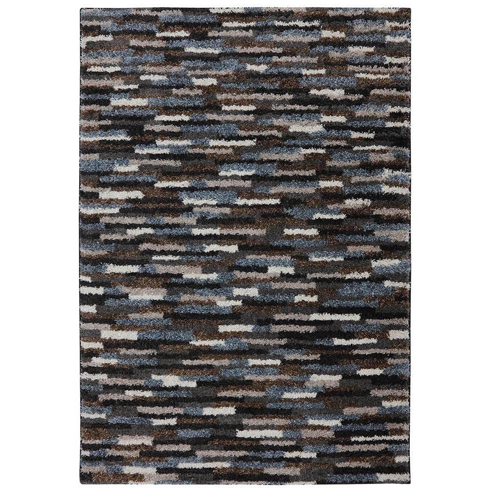 American Rug Craftsmen Mesa Black 3 ft. 4 in. x 5 ft. 6 in. Accent Rug