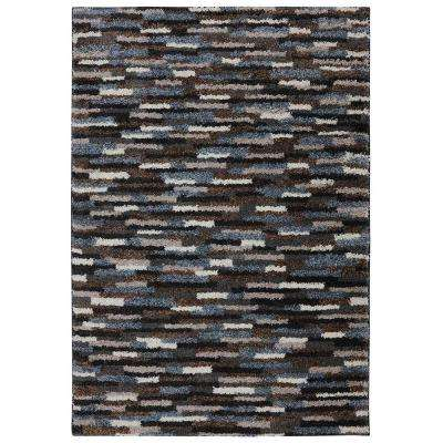 Mesa Black 10 ft. x 14 ft. Indoor Area Rug