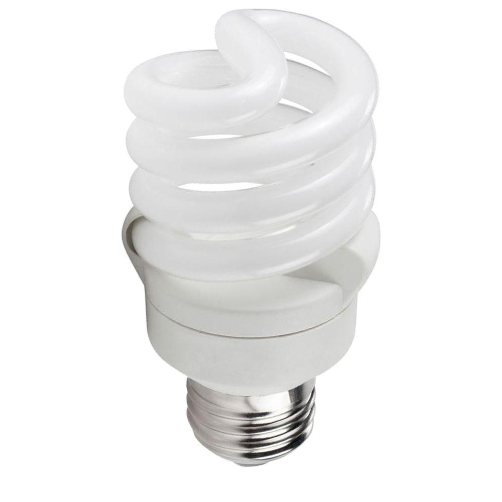 Philips 60W Equivalent Soft White T2 Spiral CFL Light Bulb (8-Pack)
