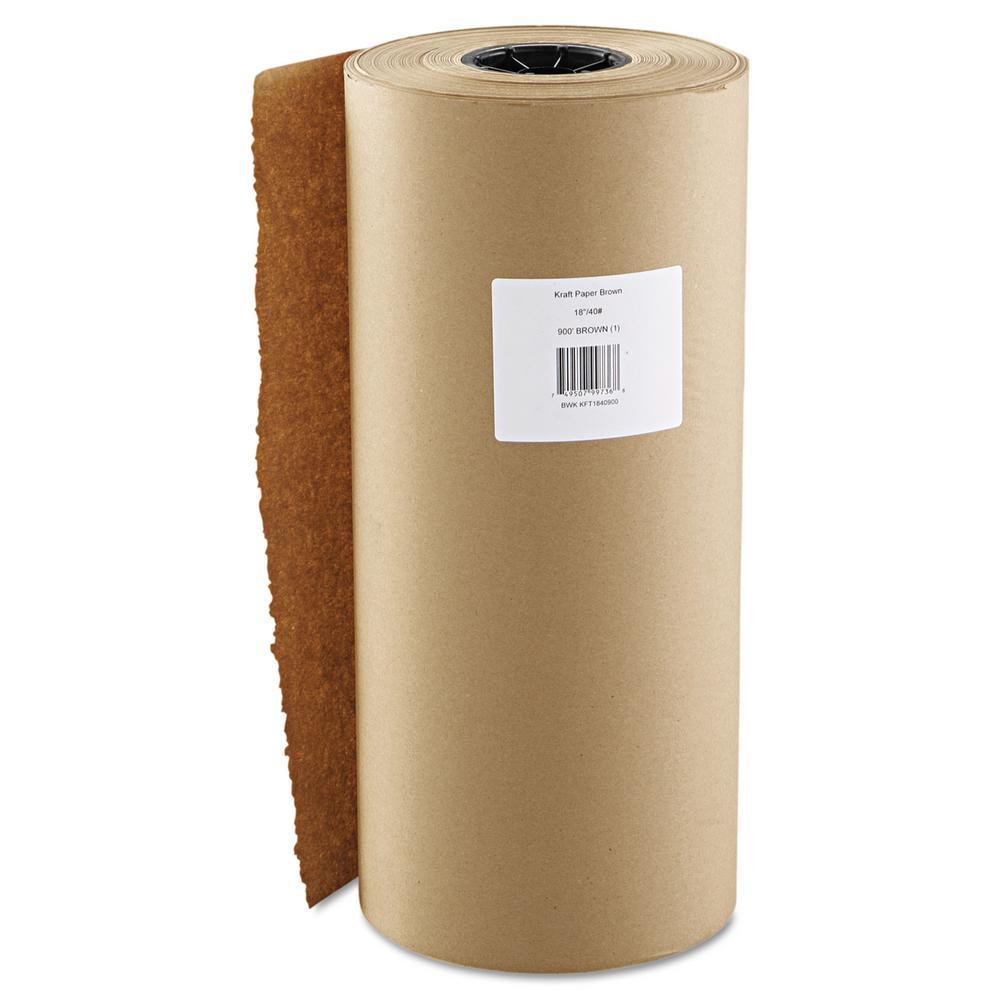 18 in. x 900 ft. Brown Kraft Paper