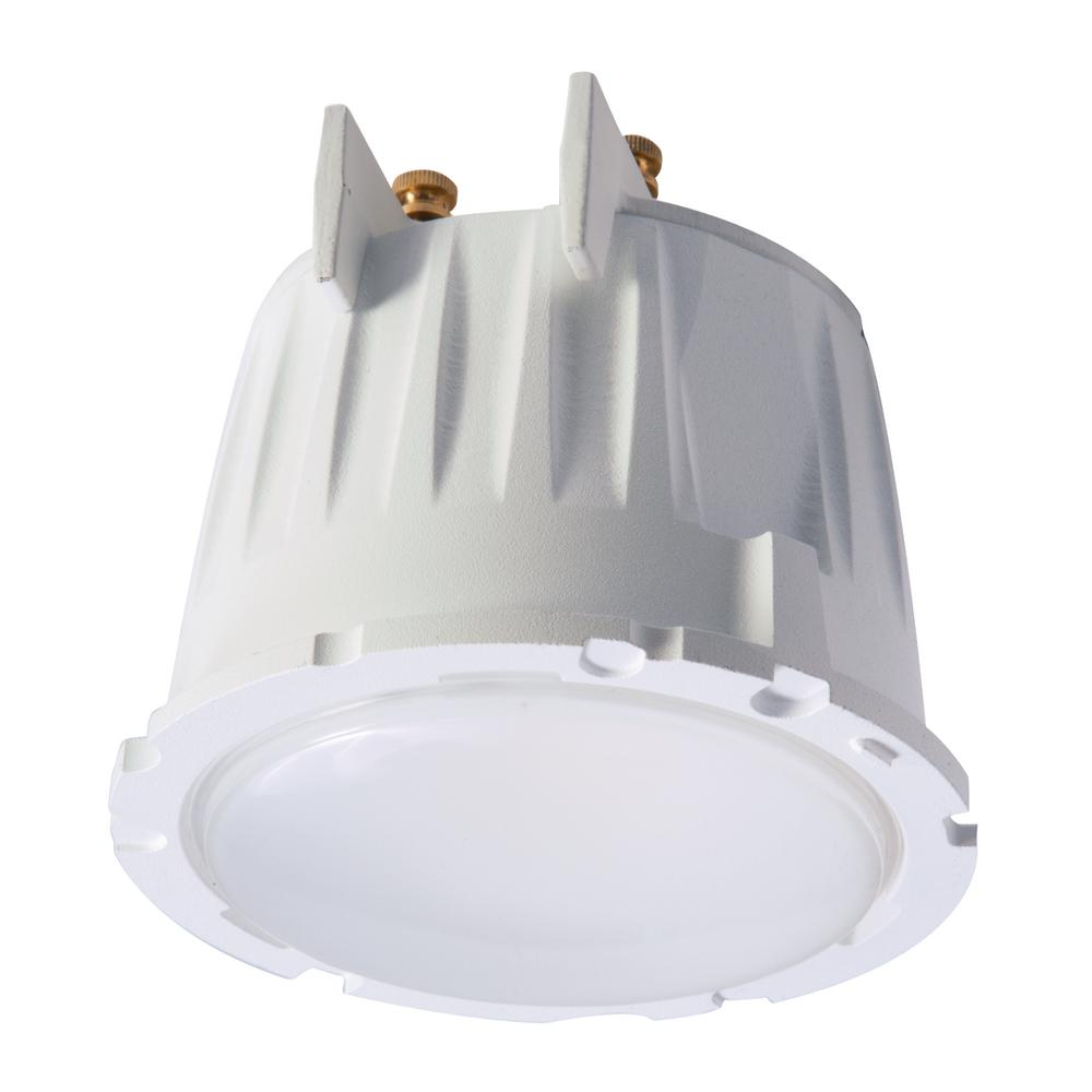 Commercial Grade Led Track Lighting: Halo Commercial PD 6 In. White Integrated LED Recessed