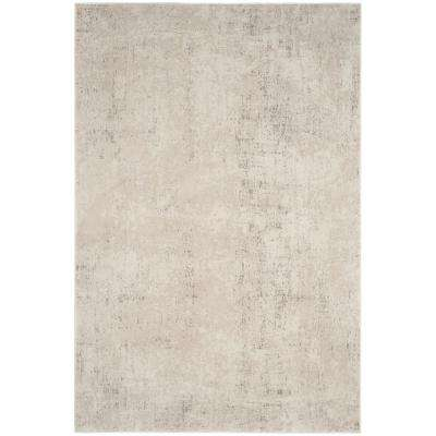 Princeton Beige/Cream 8 ft. x 10 ft. Area Rug