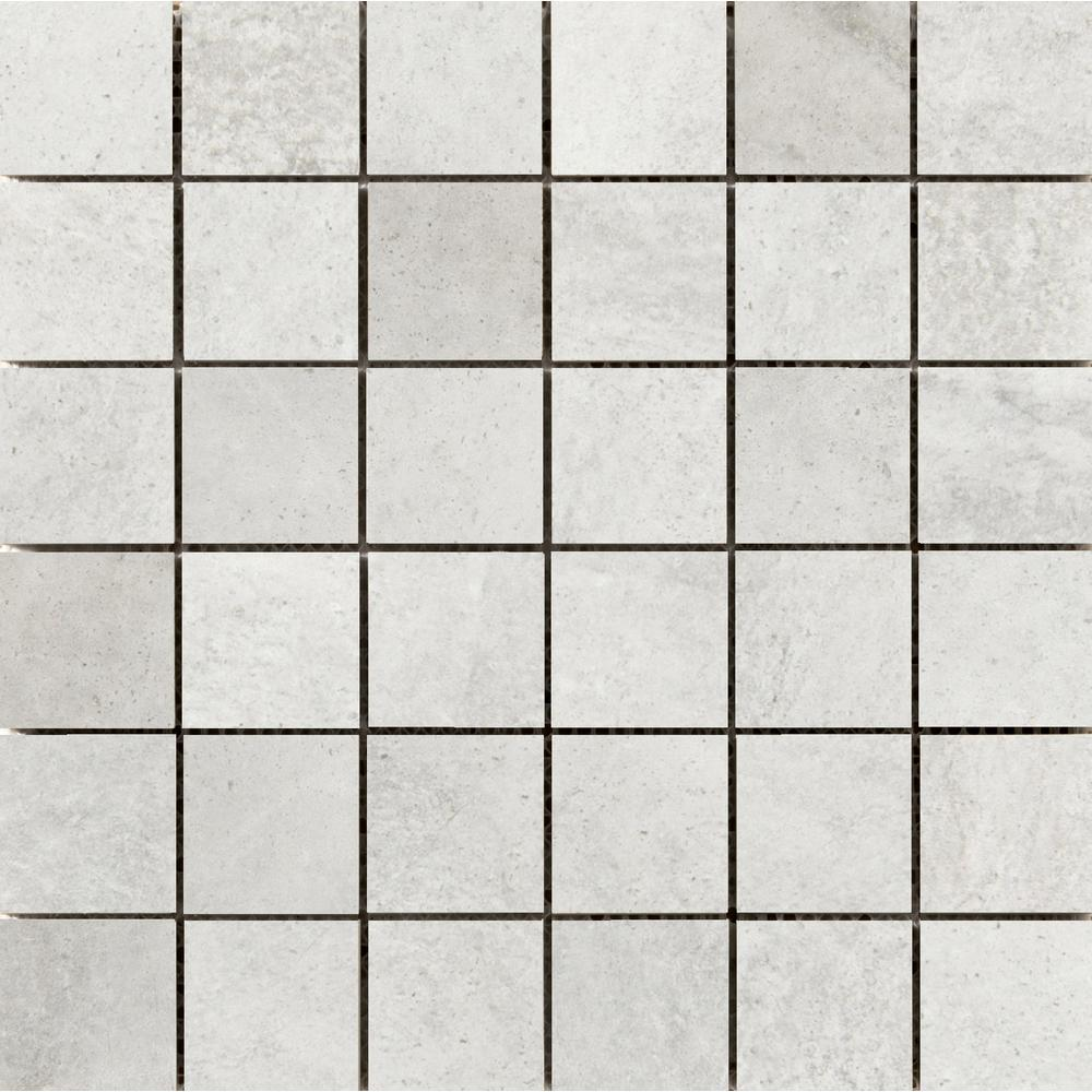 Emser Trovata Diary 12.99 in. x 12.99 in. x 9mm Porcelain Mesh-Mounted Mosaic Tile