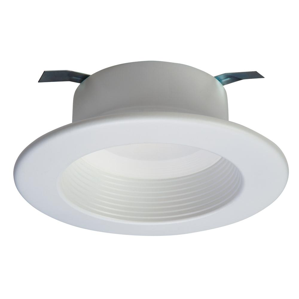 Best Color Temp For Shop Lights: Halo 4 In. White Smart Bluetooth Integrated LED Recessed
