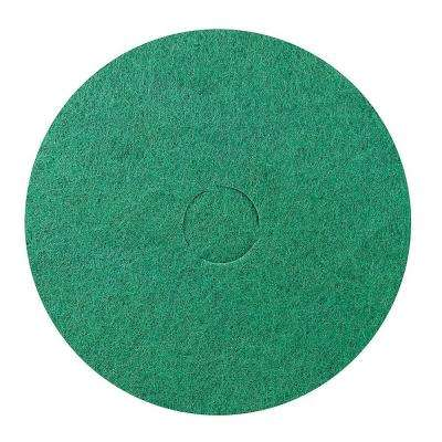 17 in. Medium/Heavy-Duty Floor Cleaning Pad