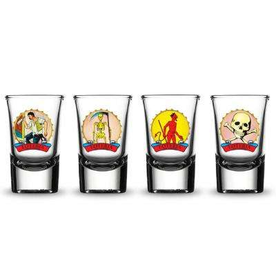 Shot Glasses Male Characters