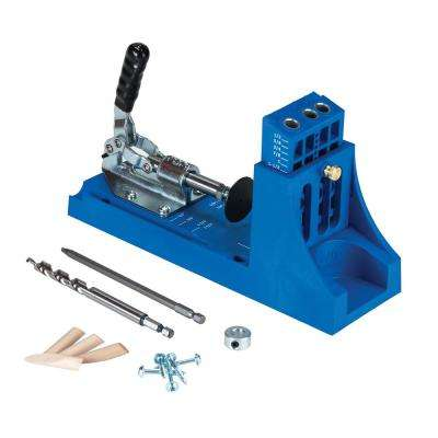 Pocket-Hole System with 2 Face Clamp Screws and Jig Mini