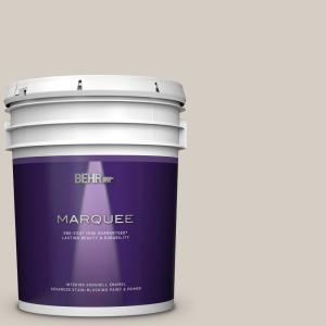 Behr Marquee 5 Gal Mq3 06 Granite Dust One Coat Hide Eggshell Enamel Interior Paint Primer 245005 The Home Depot
