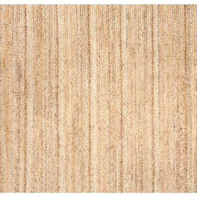 Rigo Jute Natural 8 Ft X Square Rug