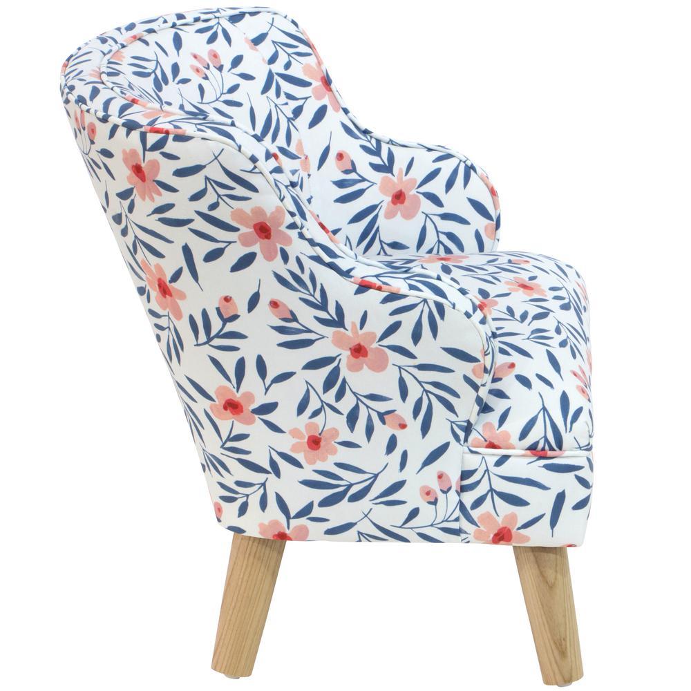 Amazing Skyline Furniture Kids Fiona Floral Porcelain Blush Modern Creativecarmelina Interior Chair Design Creativecarmelinacom