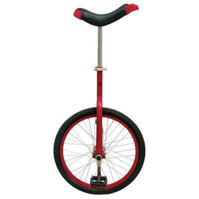 Fun Red 20 in. Unicycle with Alloy Rim