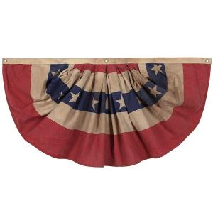 Valley Forge Flag 2-1/2 ft  x 4 ft  Sleeved Cotton 13-Star