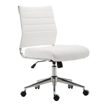Tremendous White Office Chairs Home Office Furniture The Home Depot Dailytribune Chair Design For Home Dailytribuneorg