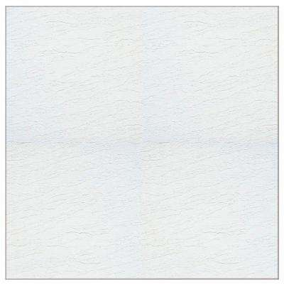 Stylistik II White Gloss 12 in. x 12 in. Residential Peel and Stick Vinyl Tile (45 sq. ft. / case)