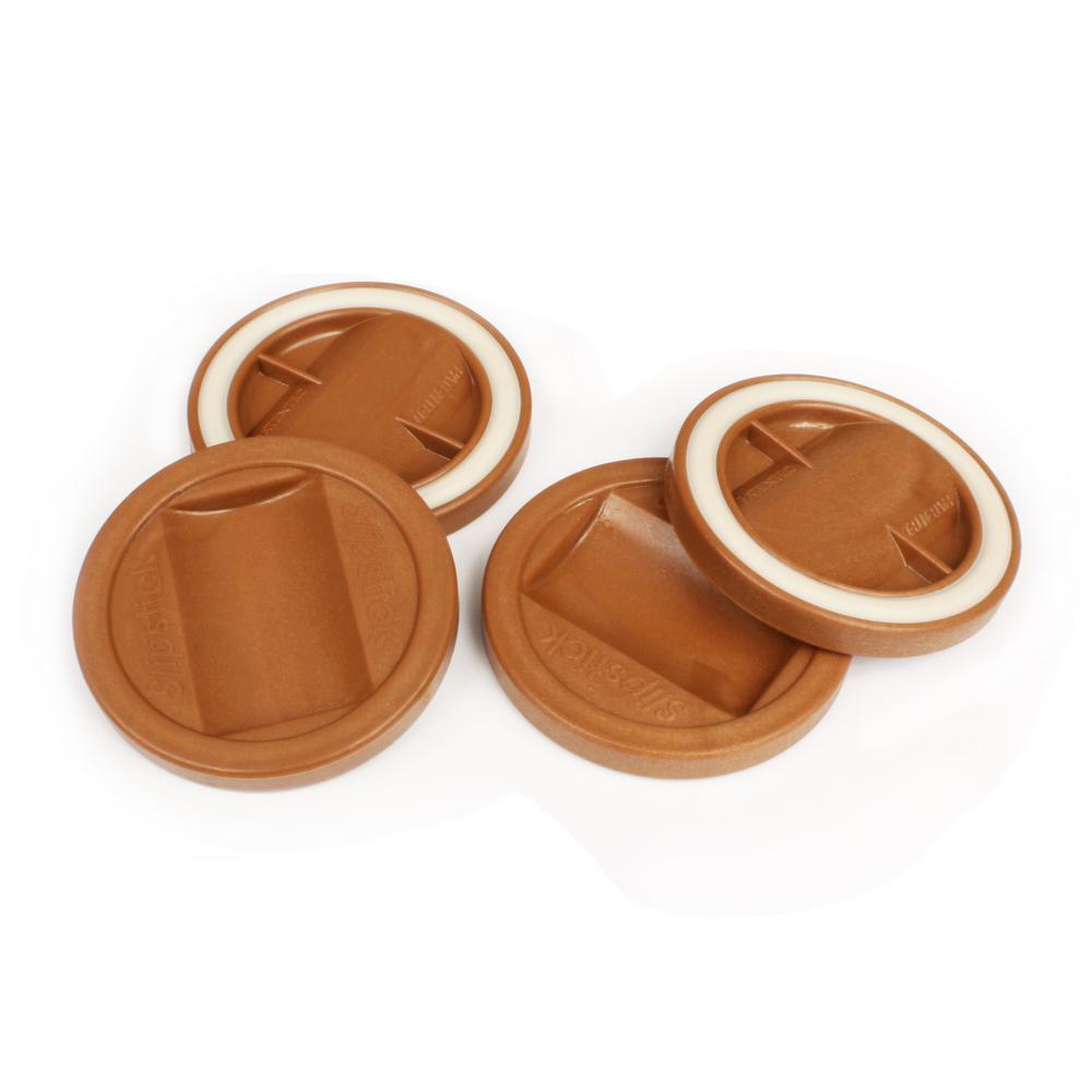 Caramel Color Bed Roller/Furniture Wheel Caster Cup