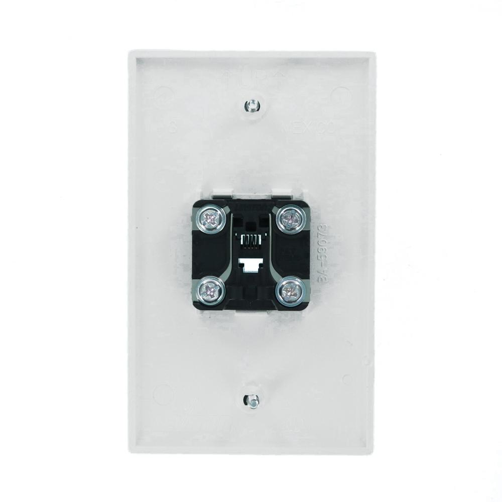Telephone Wall Plate Wiring Diagram from images.homedepot-static.com