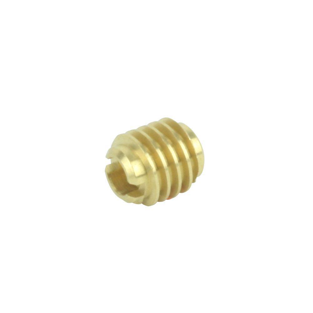 everbilt 1 4 in 20 tpi solid brass wood insert nut 2 pack 818798