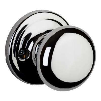 Hancock Polished Chrome Half-Dummy Door Knob