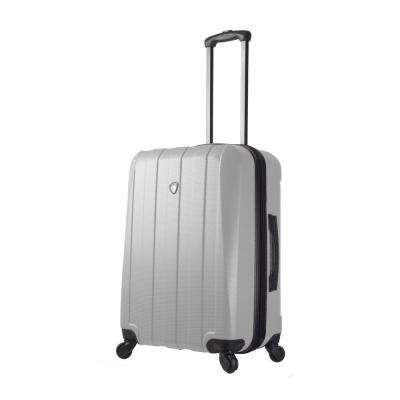 Tosetti 24 in. White Hardside Spinner Suitcase
