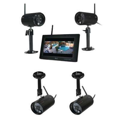 ObserverHD 4-Channel 1080p Surveillance System With 4 Wireless Camerica and 7 in. Monitor
