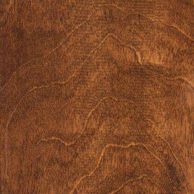 Hand Scraped Maple Country 3/8 in. T x 4-3/4 in. W x Varying Length Click Lock Hardwood Flooring (24.94 sq. ft. /cs)