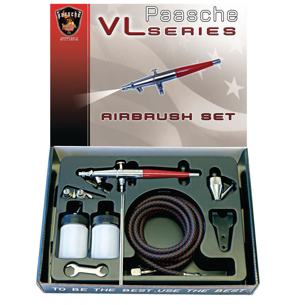 Double Action, Internal Mix, Siphon Feed Airbrush, Includes PTFE Packings and
