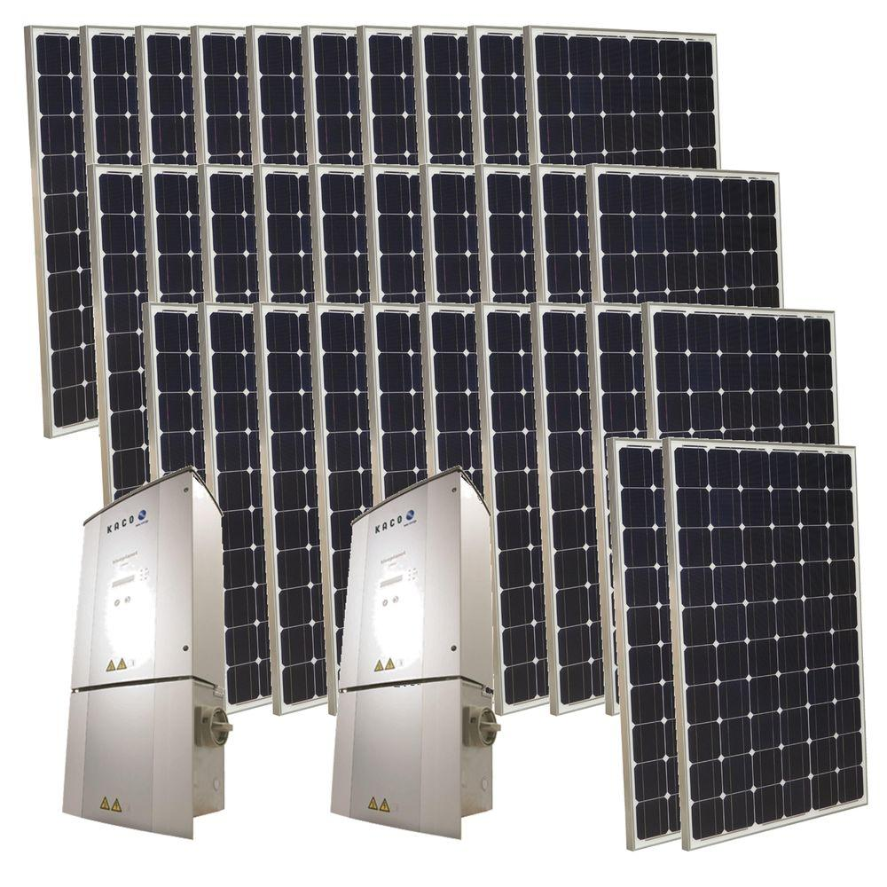 Grape Solar 8,000-Watt Monocrystalline PV Grid-Tied Solar Power Kit-DISCONTINUED