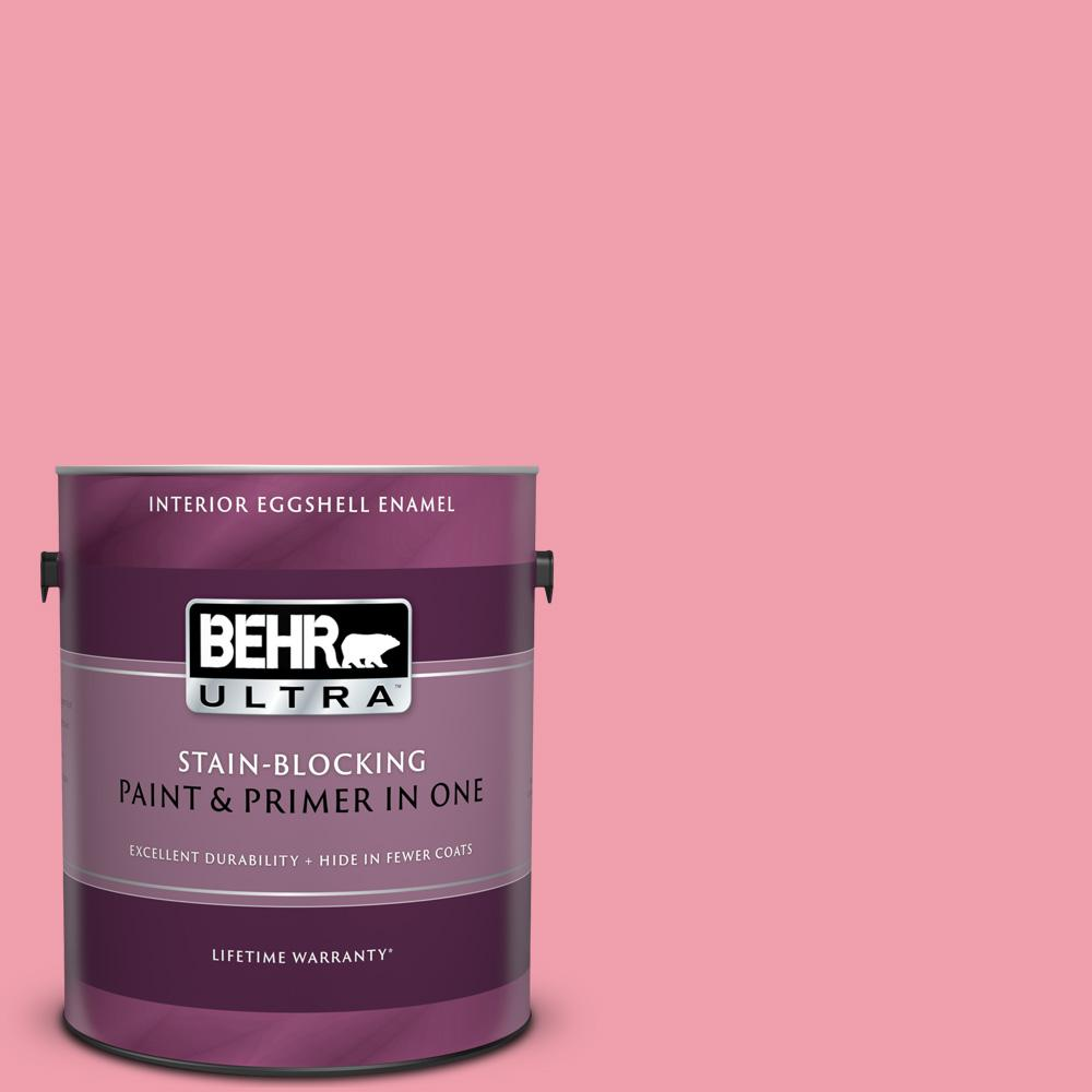 Behr Ultra 1 Gal 120b 5 Candy Coated Eggshell Enamel Interior Paint And Primer In One 275401 The Home Depot