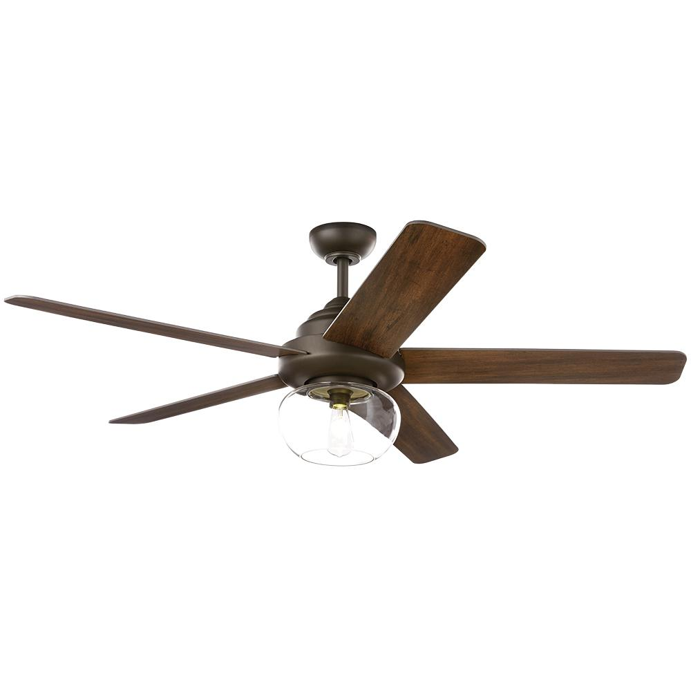 Home Decorators Collection Avonbrook 56 in. LED Bronze Ceiling Fan with Light Kit and Remote Control