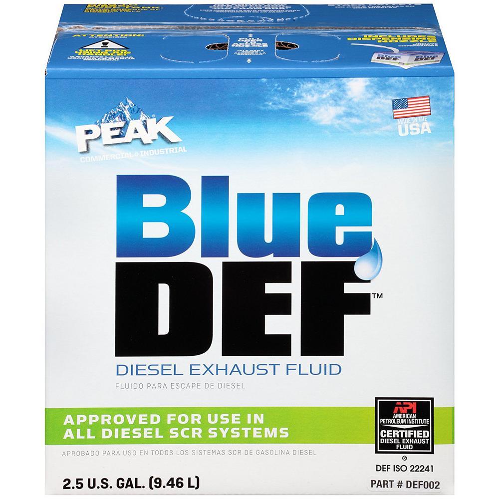 BlueDEF 2.5 Gal. Diesel Exhaust Fluid