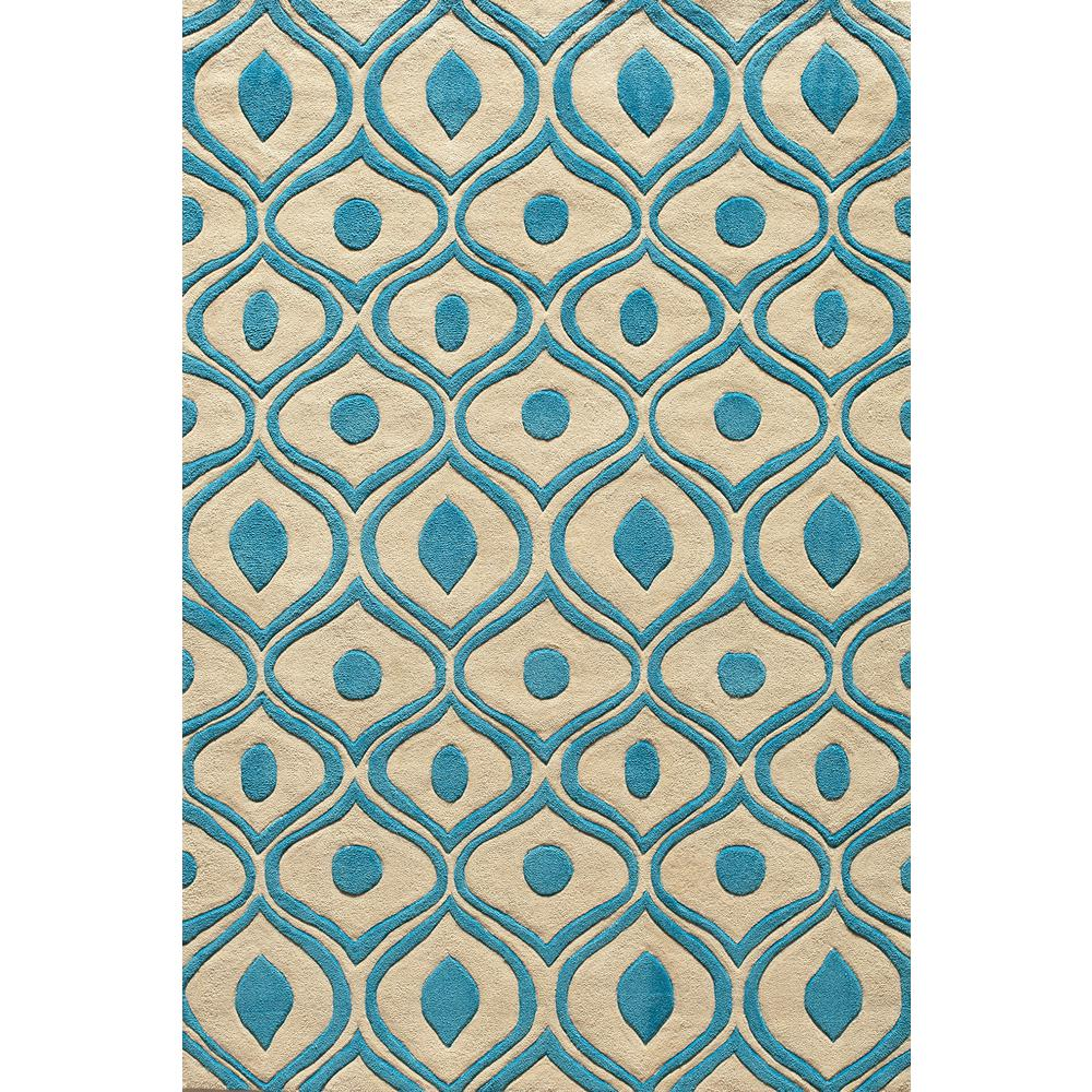 Bliss Blue 5 ft. x 7 ft. 6 in. Area Rug