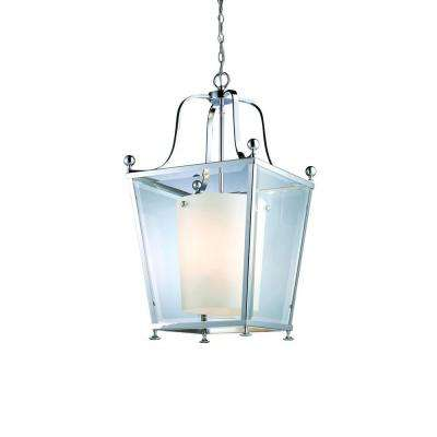 Lawrence Collection 4-Light Chrome Pendant