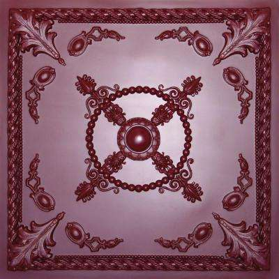 Alexander Merlot 2 ft. x 2 ft. Lay-in or Glue-up Ceiling Panel (Case of 6)