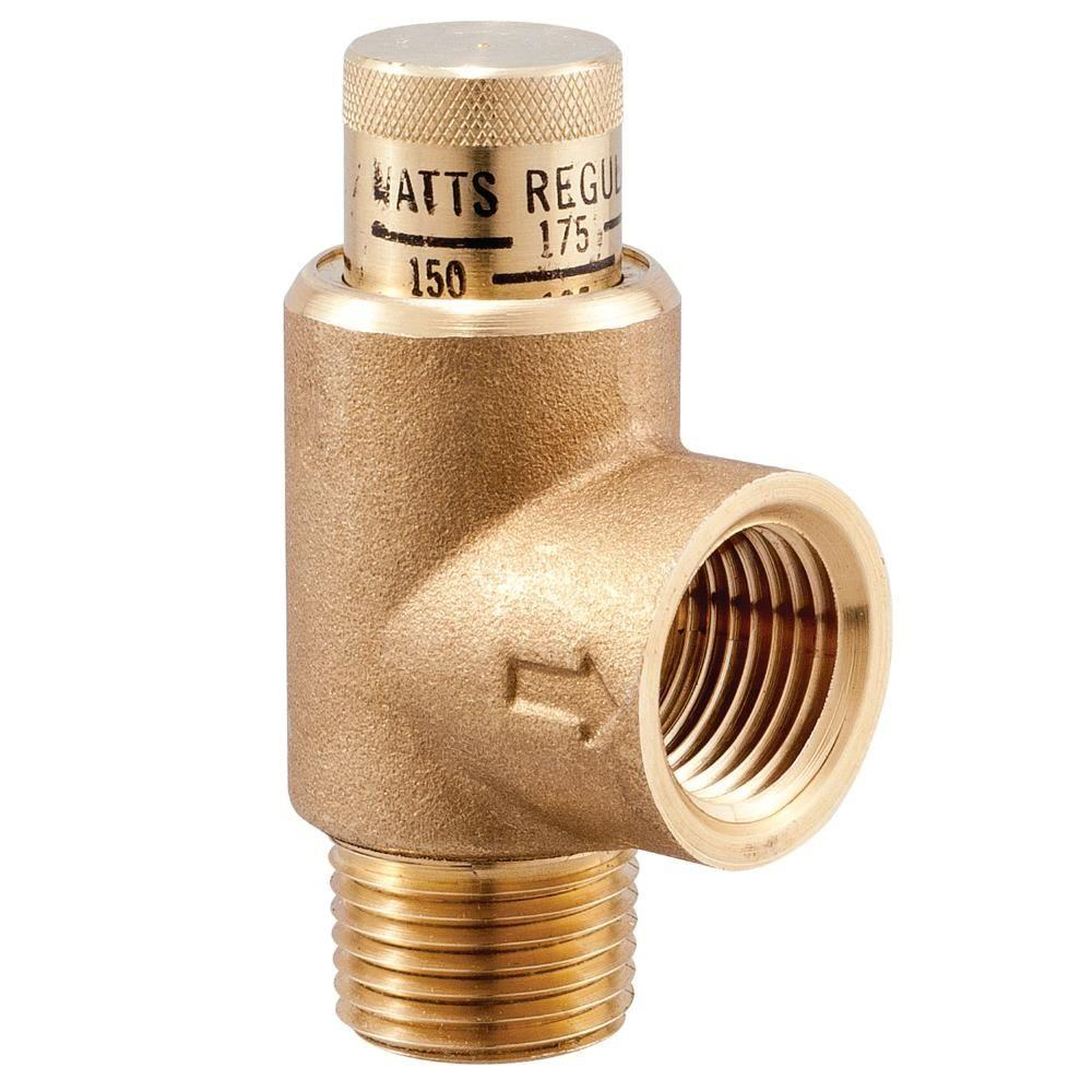 Watts 12 In Lead Free Brass Pressure Relief Valve 12 Lf530c The