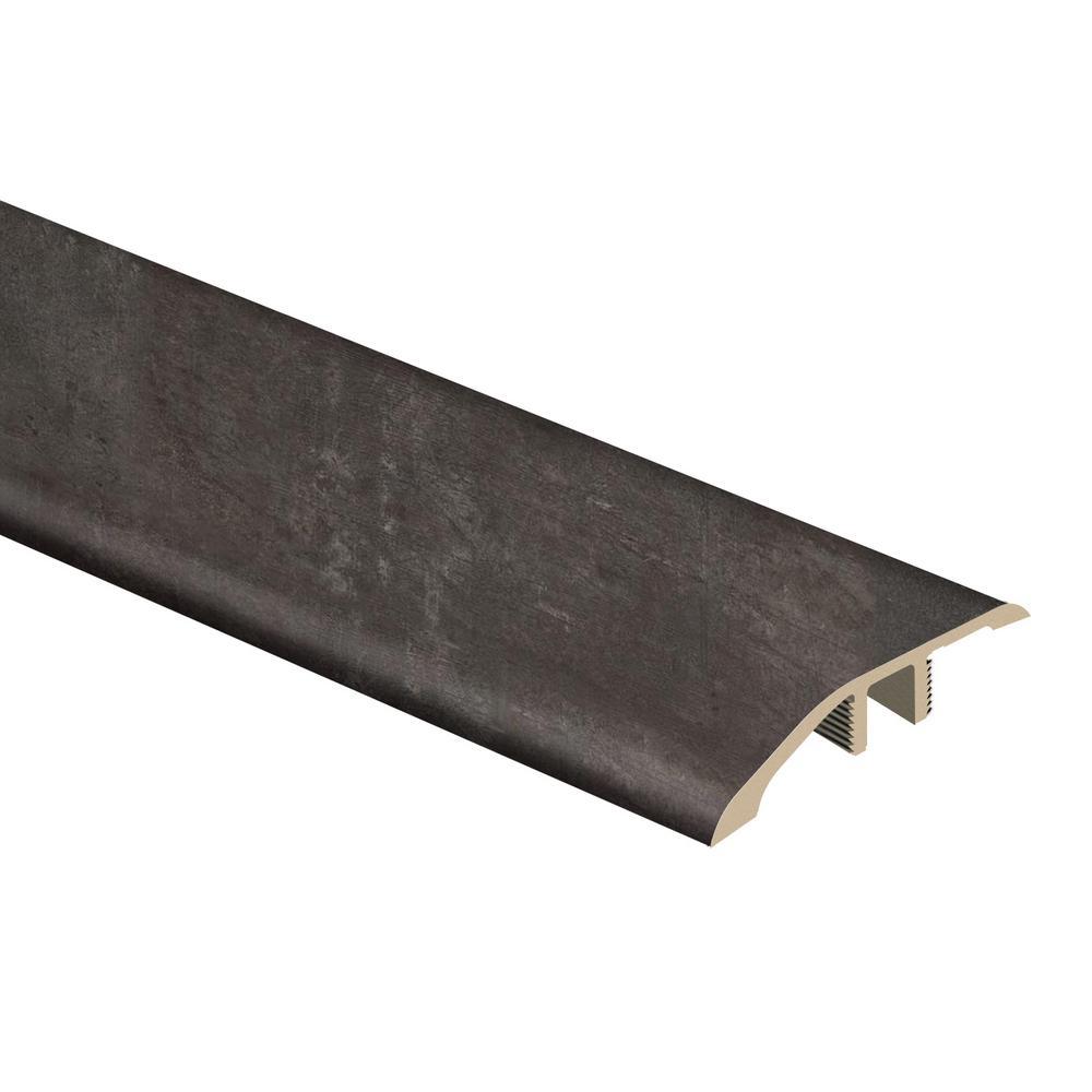 Castle Black Slate 1/3 in. T x 1-13/16 in. W x 72 in. L Vinyl Multi-Purpose Reducer Molding