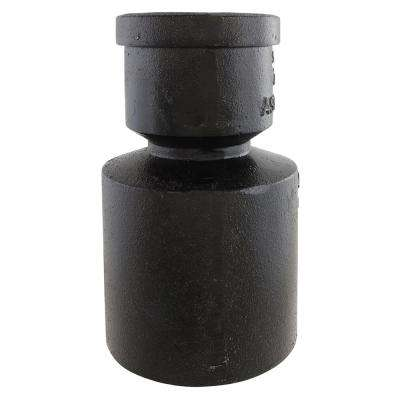 4 in. x 2 in. Cast Iron Reducer
