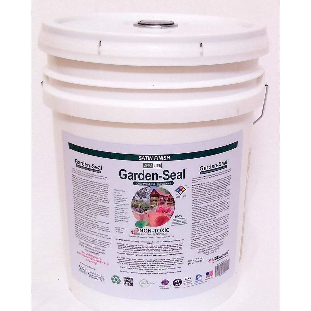 Garden-Seal Sealant for All types of garden areas with wood, concrete,