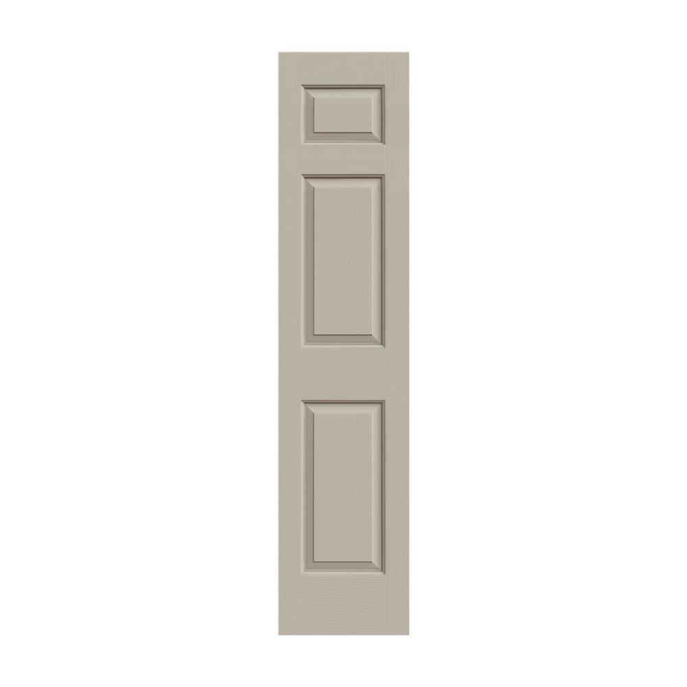 Jeld Wen 18 In X 80 In Colonist Desert Sand Painted Textured Molded Composite Mdf Interior