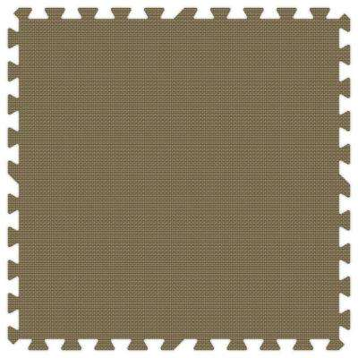 Brown 24 in. x 24 in. Comfortable Mat (100 sq.ft. / Case)