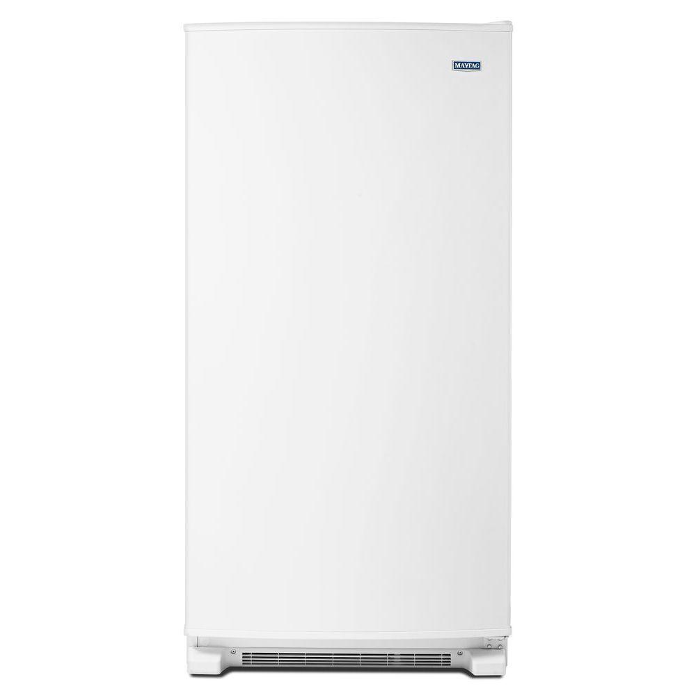 17.7 cu. ft. Frost Free Upright Freezer in White