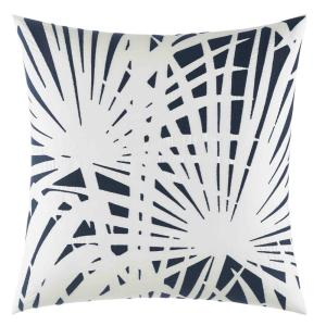 Candler Navy 18 in. x 18 in. Throw Pillow