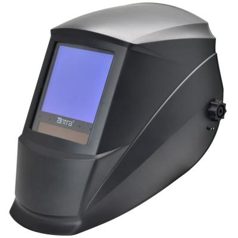 3.76 in. x 3.50 in. Solar Power Auto Darkening Welding Helmet with Large Viewing Size