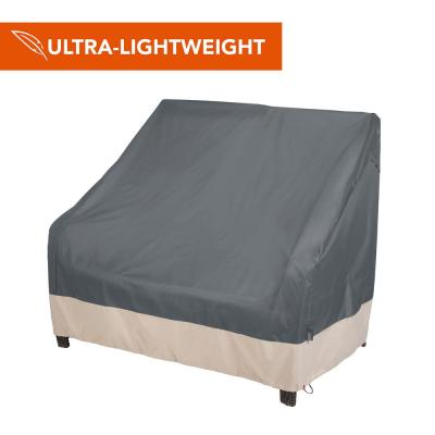 Renaissance Ultralite Water Resistant Outdoor Patio Loveseat Cover, 66 in. W x 40 in. D x 39 in. H, Gray