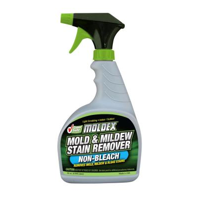 Wet & For 1 gal Moss Mold Mildew and Algae Stain Remover
