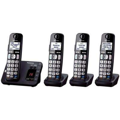 4-Handset Expandable Digital Cordless Answering System
