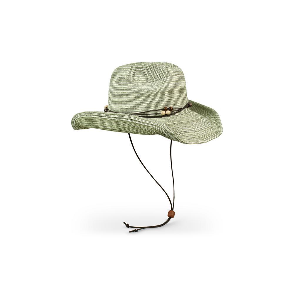 Women's Lemon Grass Sunset Polyester Braided Hat