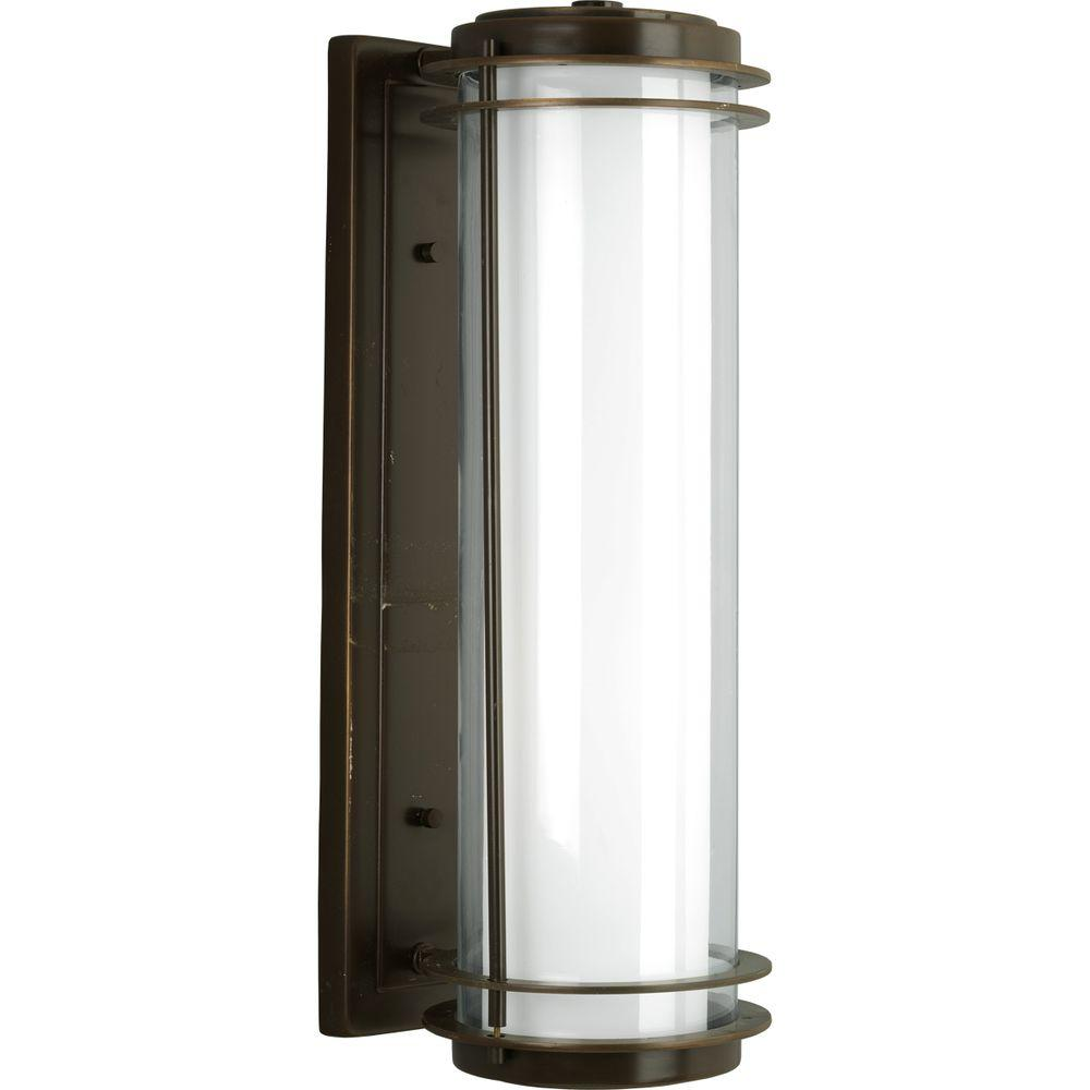 Penfield Collection 2-Light Oil-Rubbed Bronze Outdoor Wall Lantern