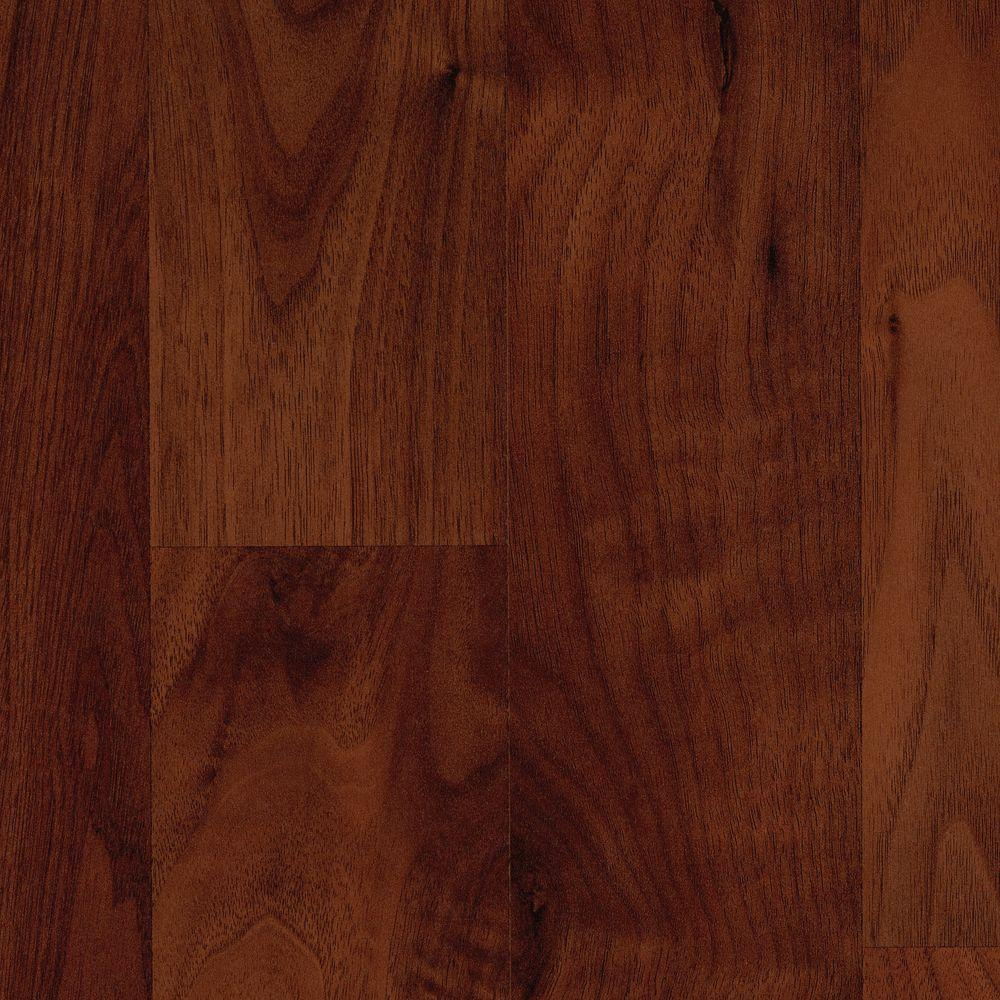 Mohawk Brentmore Russet Walnut 8 mm T x 7-1/2 in. W x 47-1/4 in. L Laminate Flooring (17.18 sq. ft. / case)-DISCONTINUED
