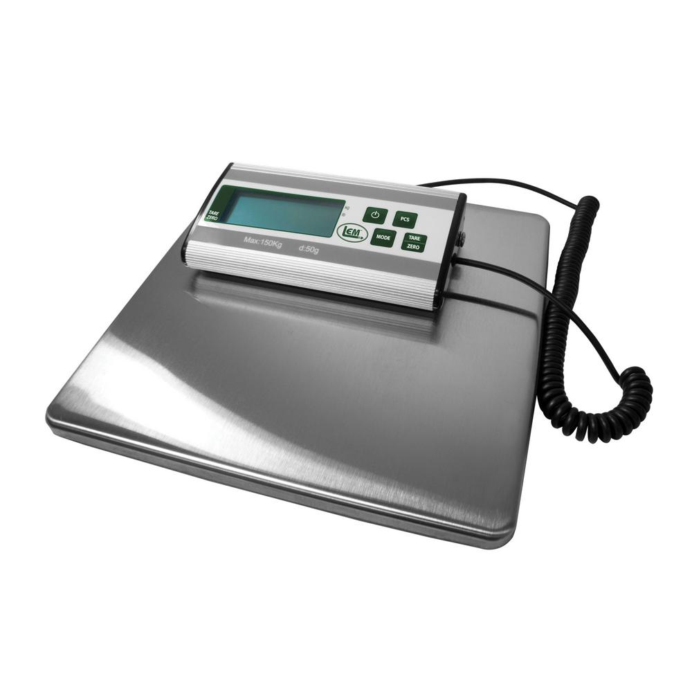 LEM 330 Lb Stainless Steel Digital Scale